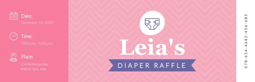Diaper Raffle Ticket Template