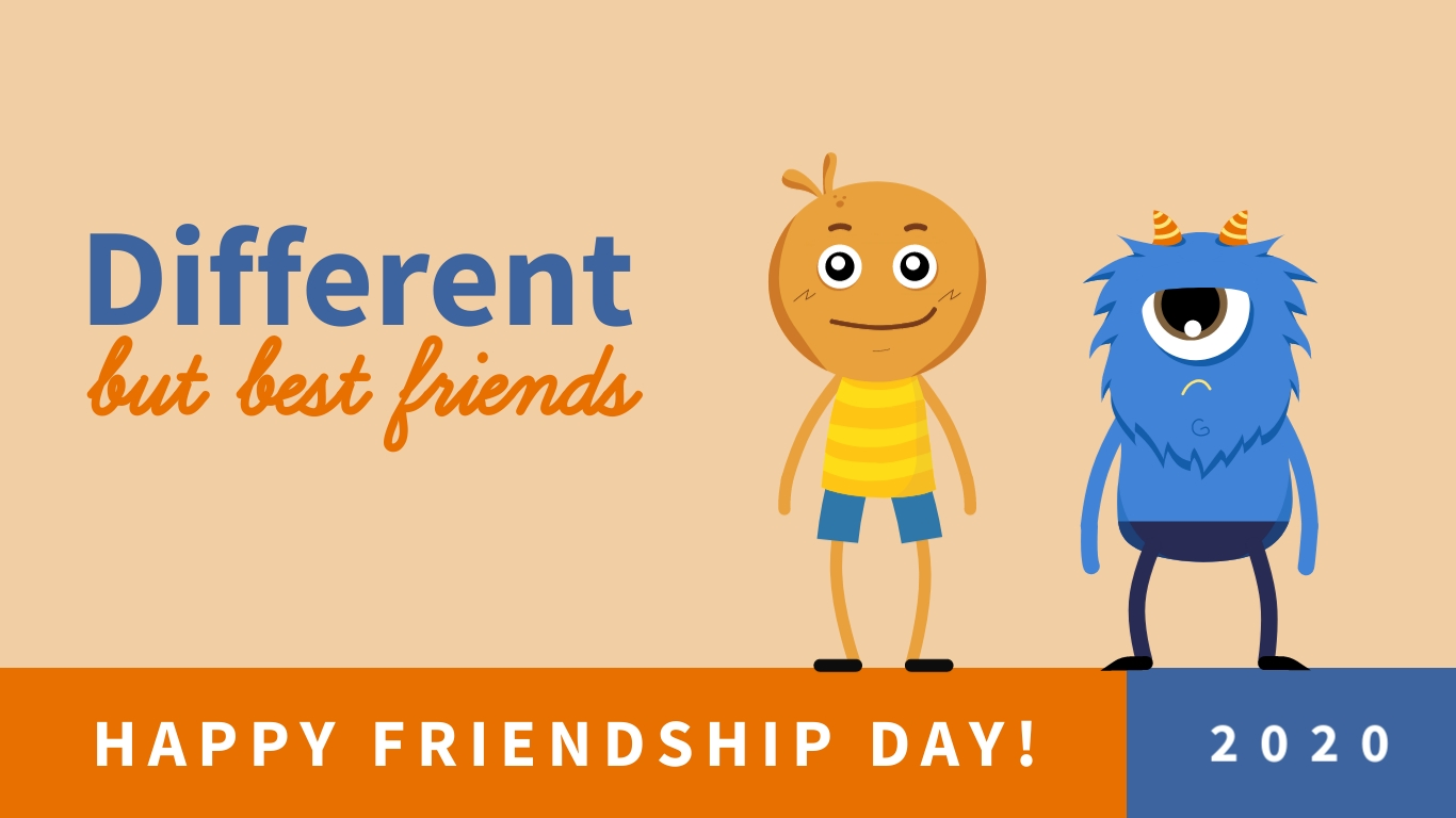 Different Besties - Twitter Ad Template