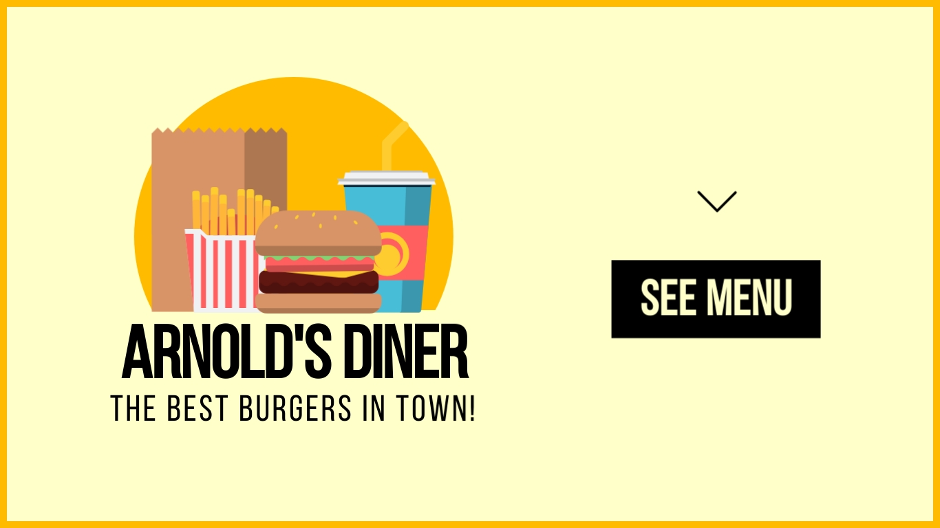 Diner - Twitter Ad Template