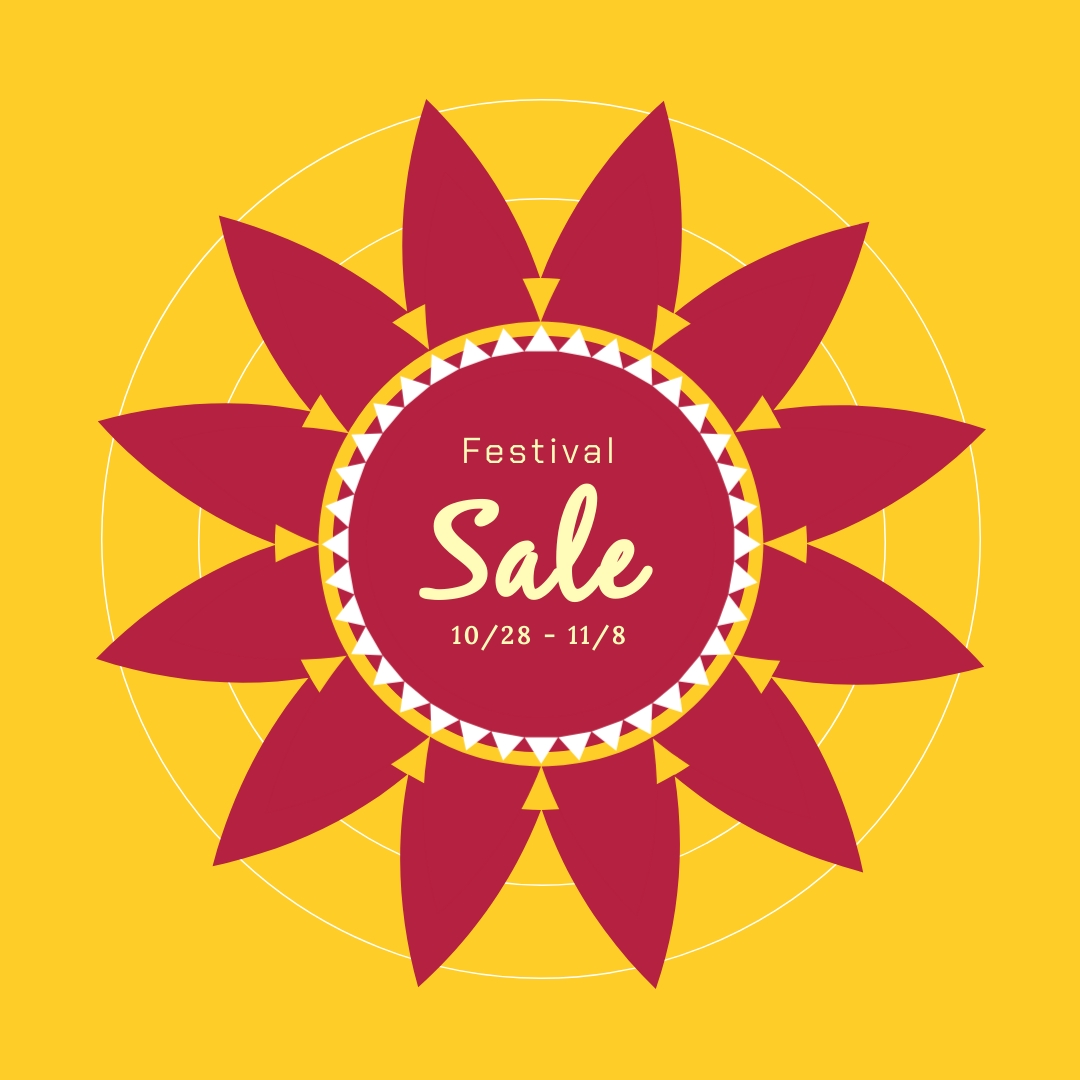 Diwali Festival Sale Blog Graphic Medium Template