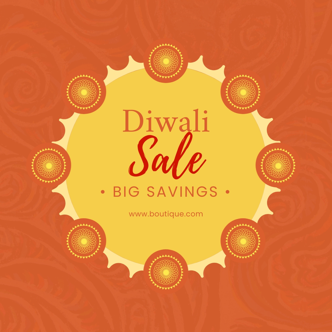 Diwali Sale Blog Graphic Medium Template