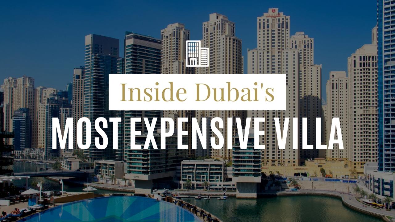 Dubai Most Expensive Villa Youtube Thumbnail Template