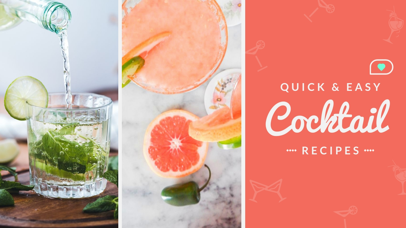 Easy Cocktail Recipes - Twitter Ad Template