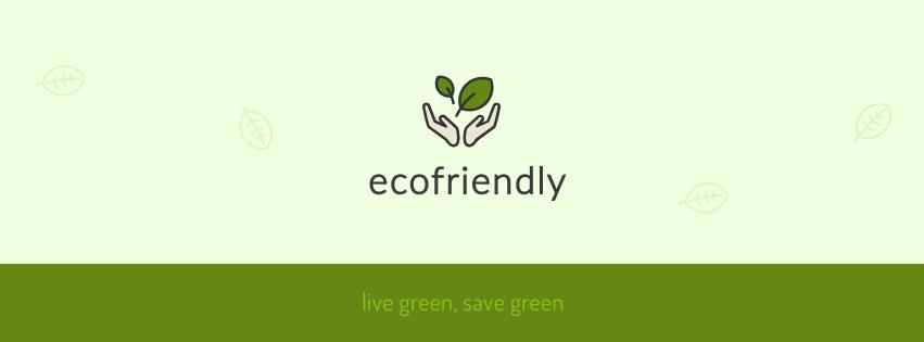 Ecofriendly Facebook Cover  Template