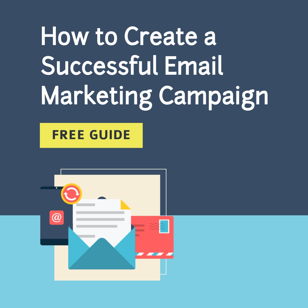 Email Marketing Campaign Square Template