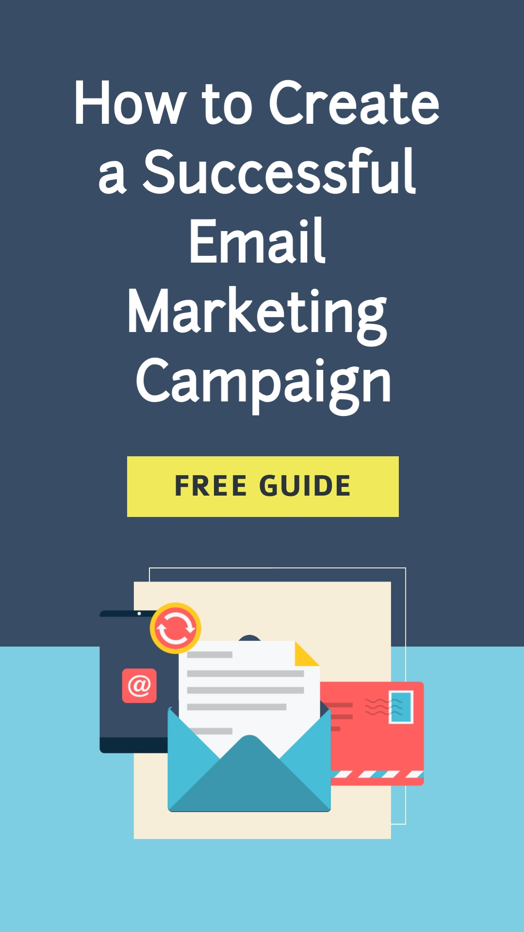 Email Marketing Campaign Vertical Template