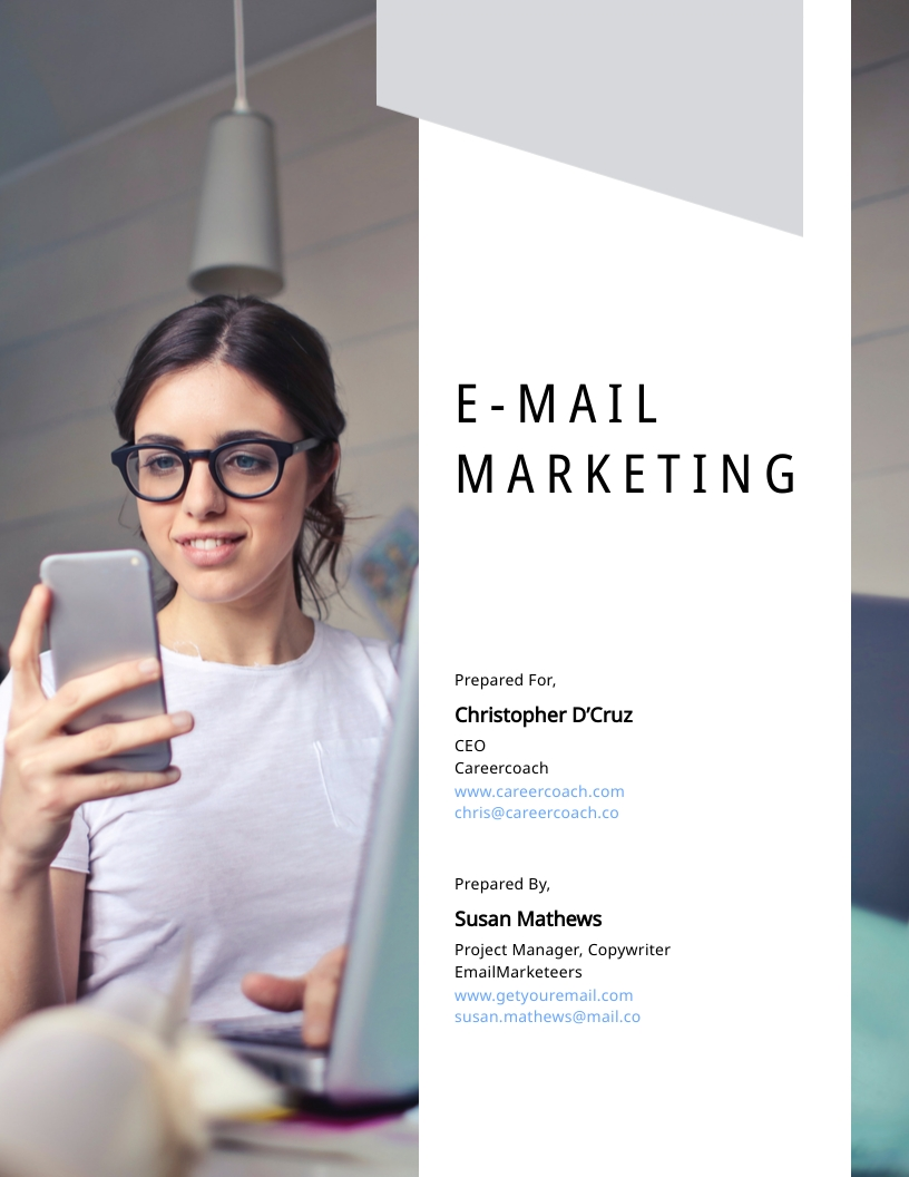 Email Marketing - Proposal Template
