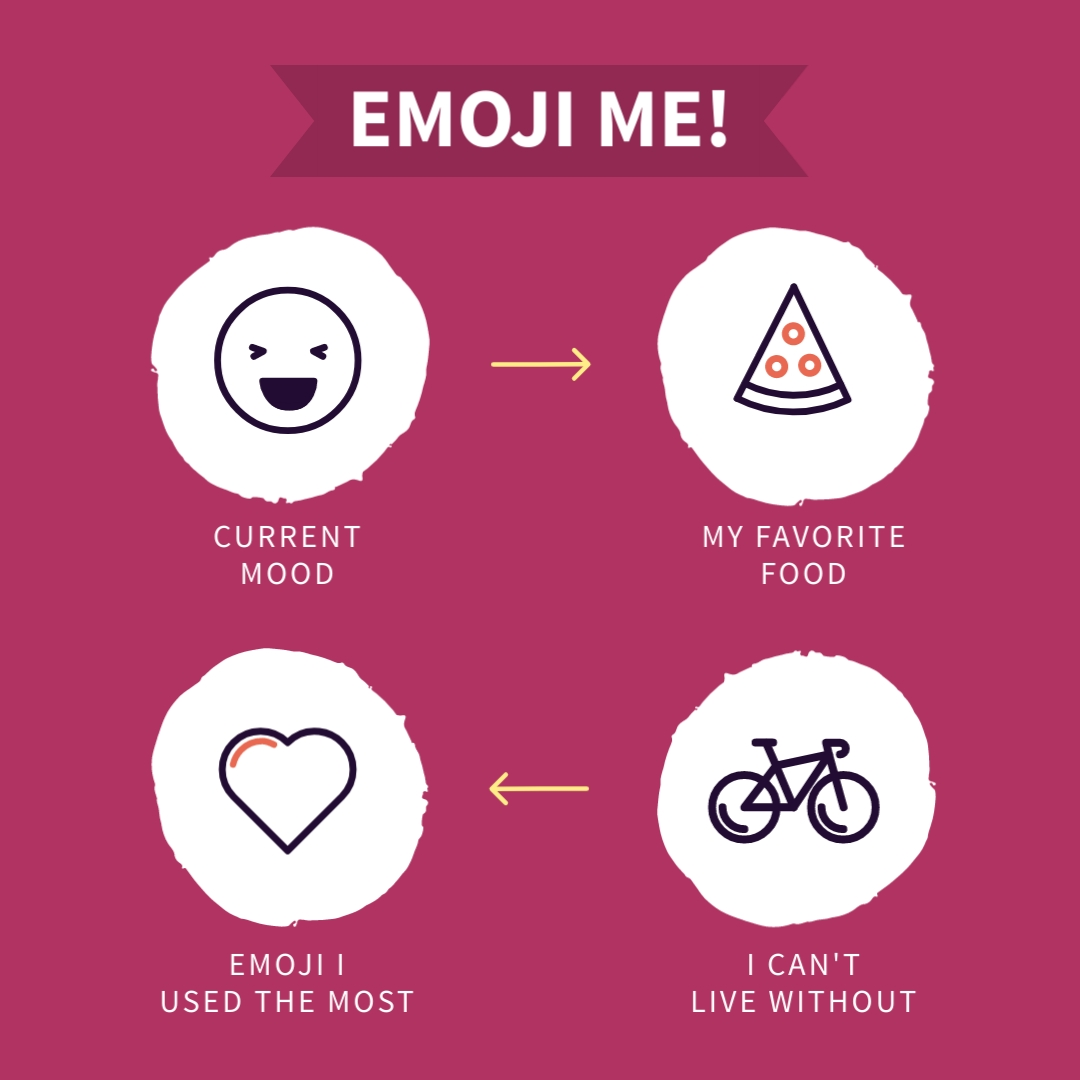 Emoji Me Animated Square Template