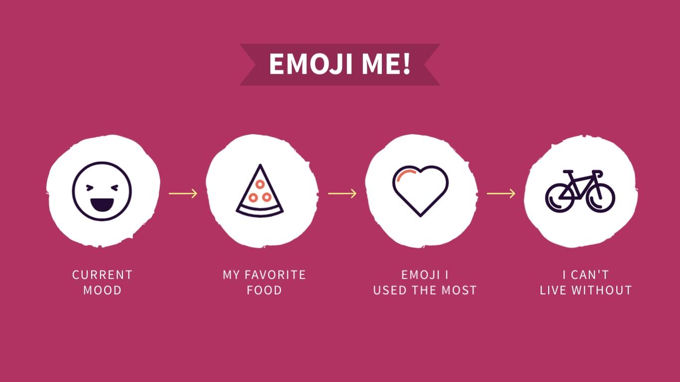Emoji Me Animated Wide Template