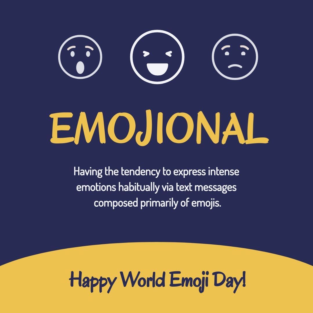 Emojional Meaning - Instagram Post Template