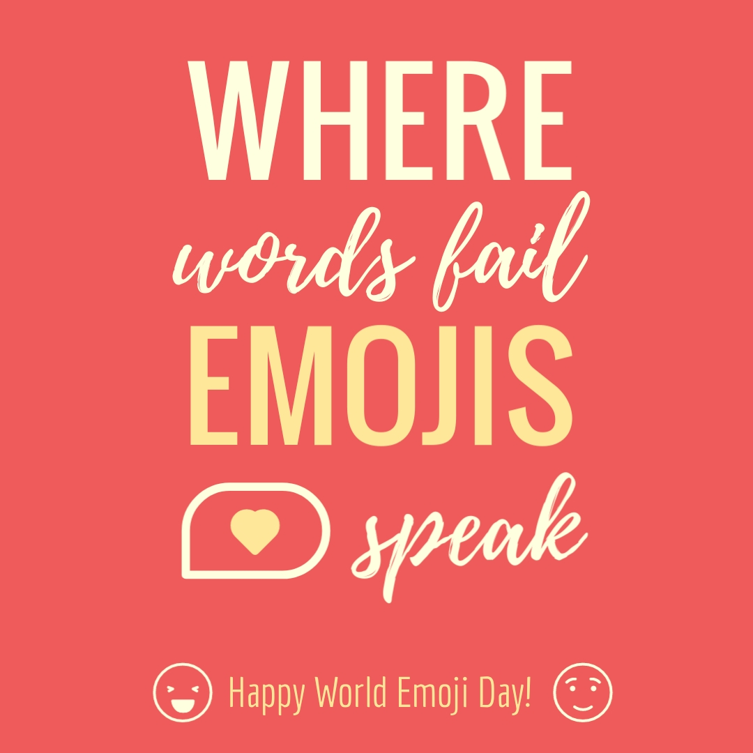 Emojis Speak - Instagram Post Template