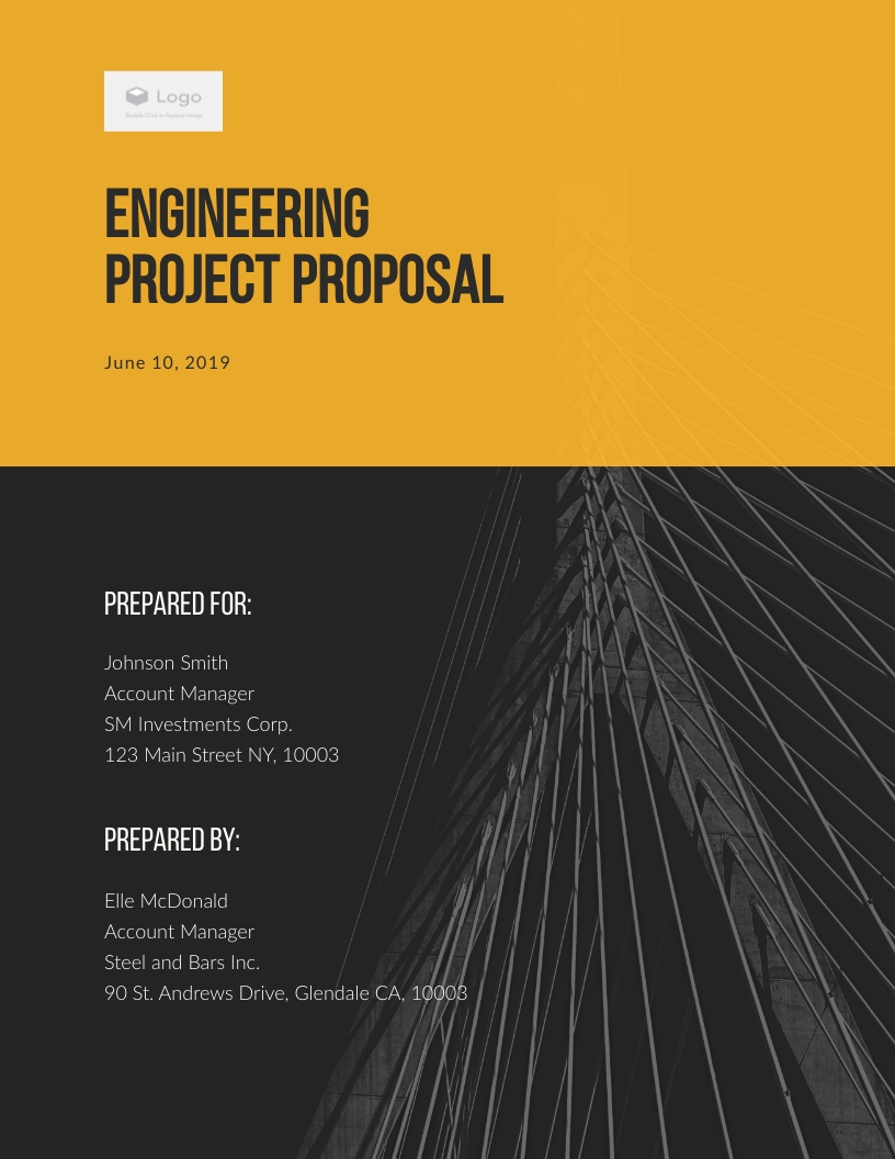Engineer  - Proposal Template