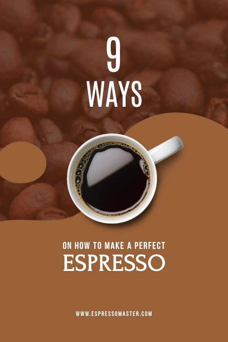 Espresso Coffee Template
