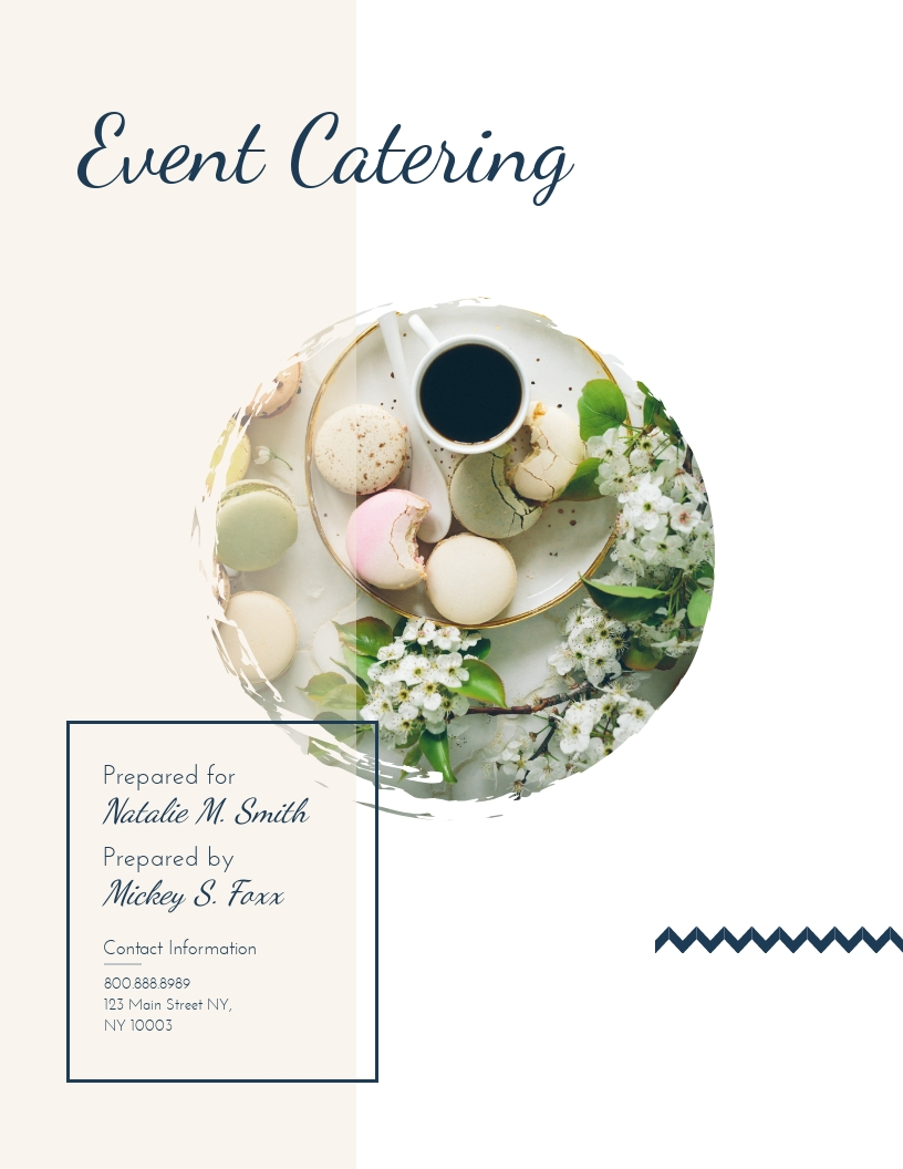 Event Catering - Proposal Template