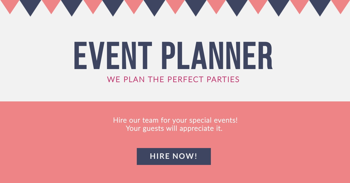 Event Planner - Facebook Ad Template