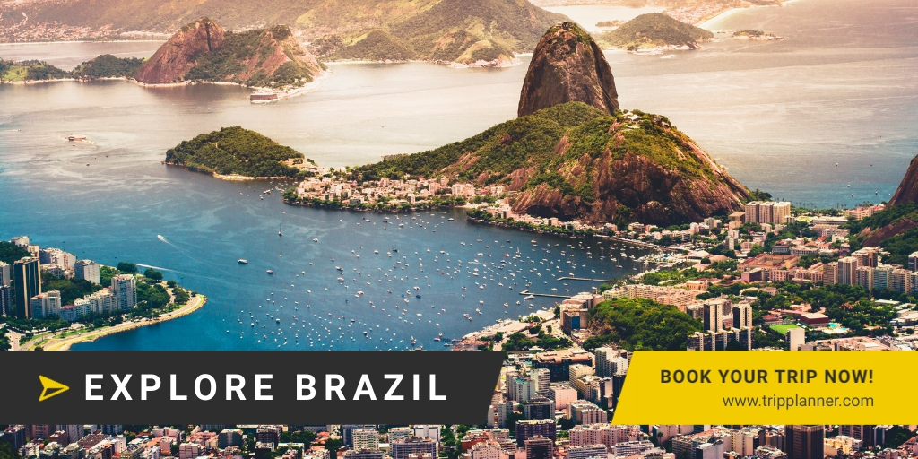 Explore Brazil - Twitter Ad Template