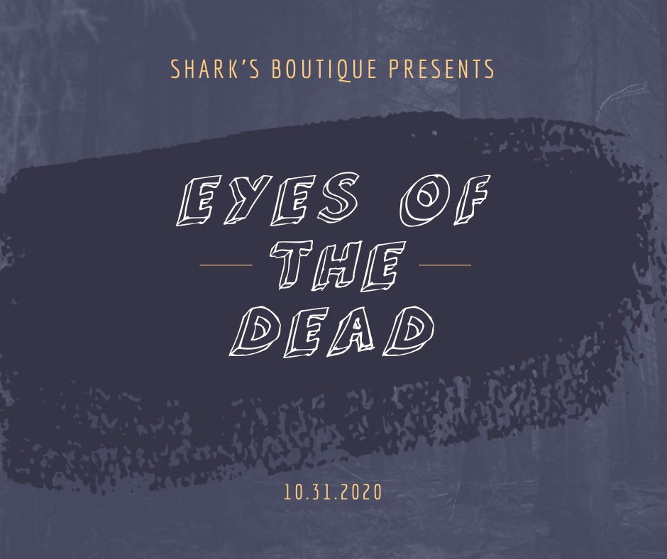 Eyes of the Dead Horror Facebook Post Template
