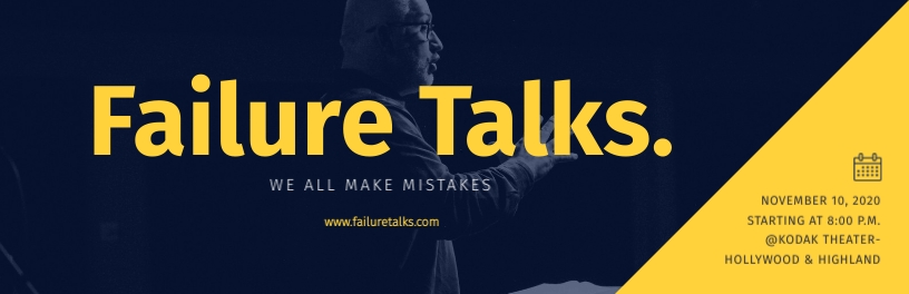 Failure Talks Ticket Template