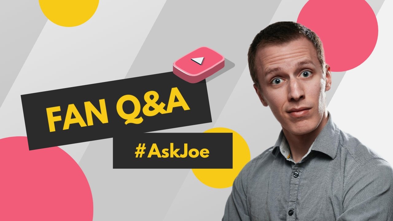 Fan Question and Answer Youtube Thumbnail Template