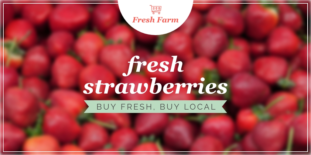 Farmer's Market - Website Header Template