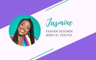 Fashion Designer - ID Card Template