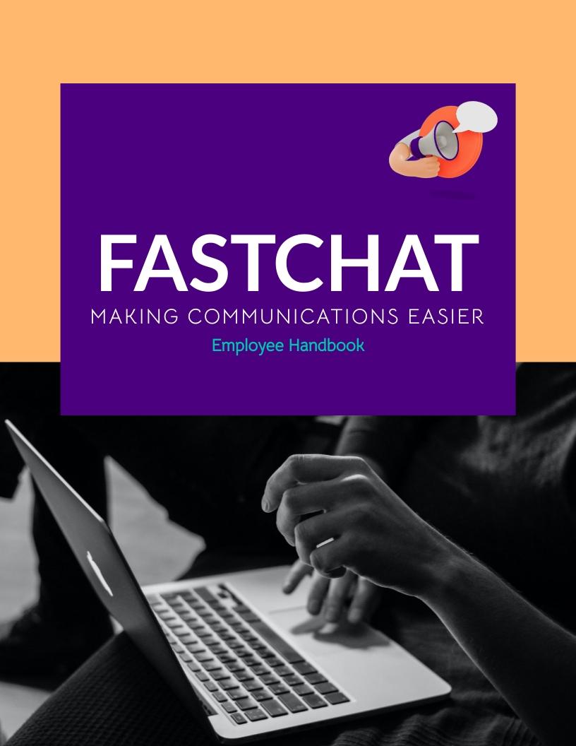 FastChat Employee Handbook Template