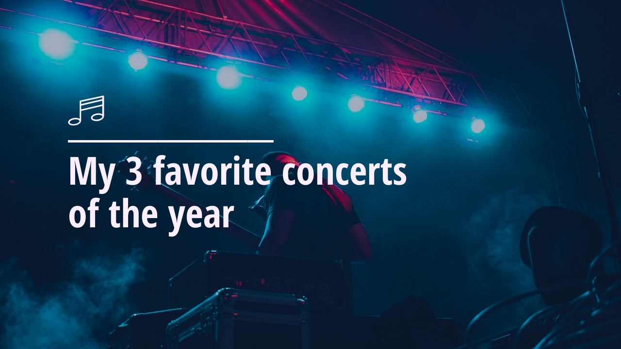 Favorite Concerts Youtube Video Cover Template