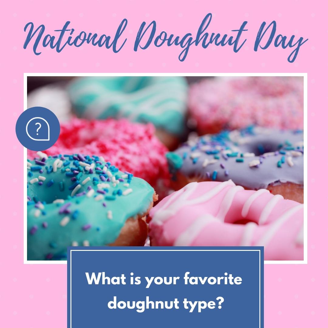 Favorite Doughnut Post - Instagram Post Template