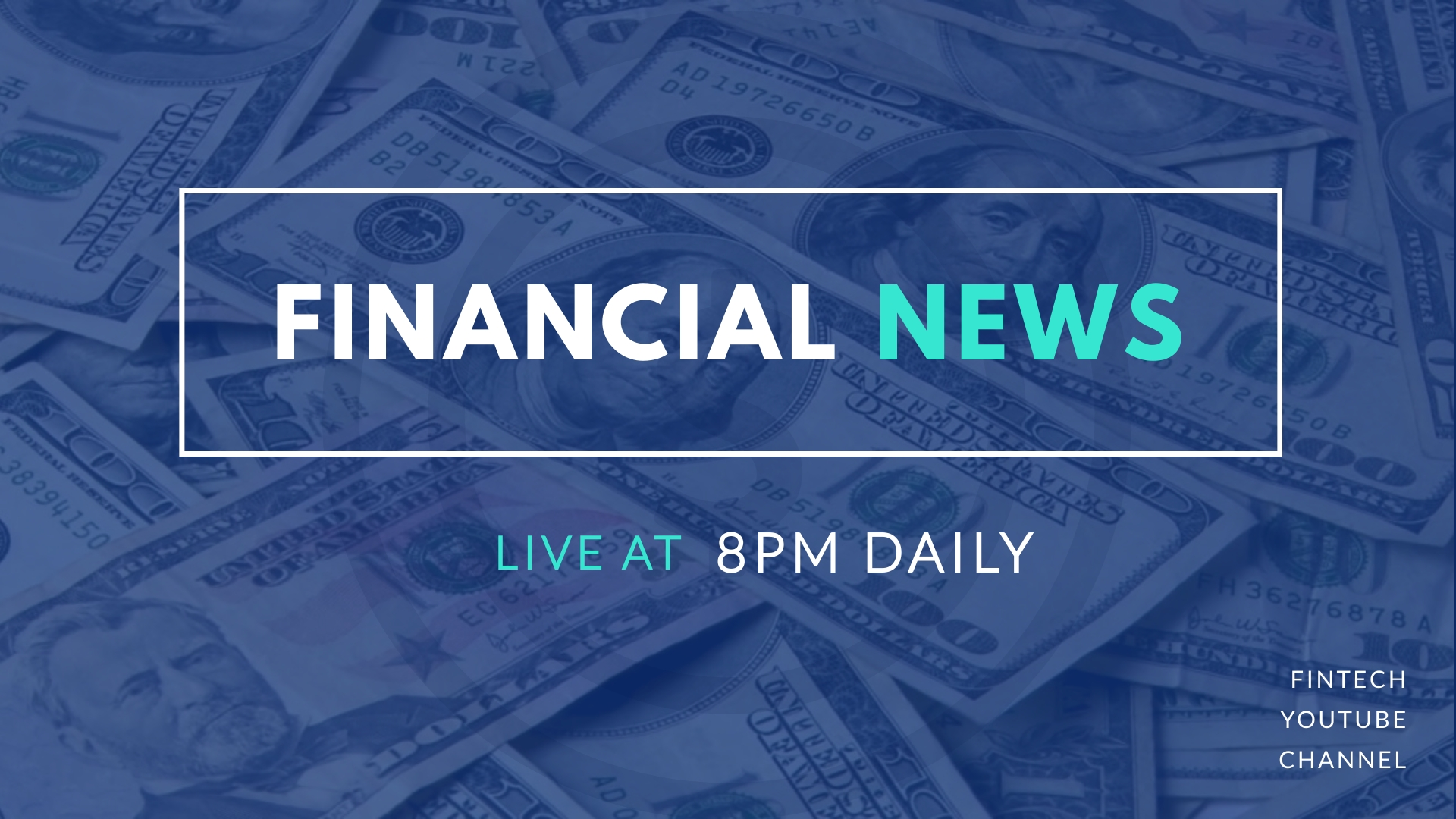 Financial News Intro - Video Template