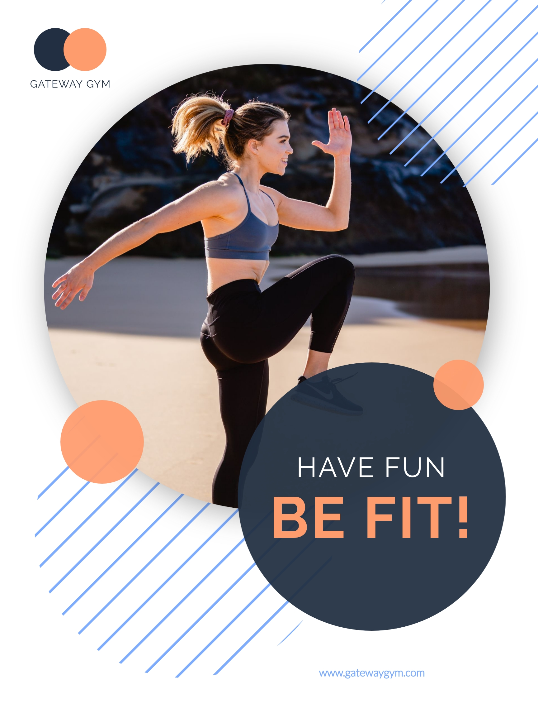 Fitness Gym Poster Template