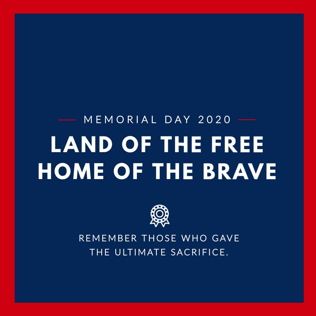 Flag Memorial Day - Instagram Post Template
