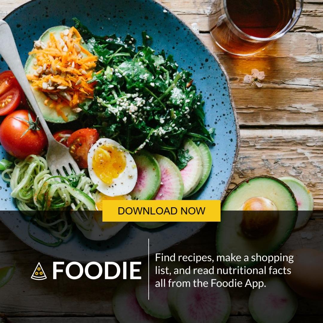 Foodie App Square Template