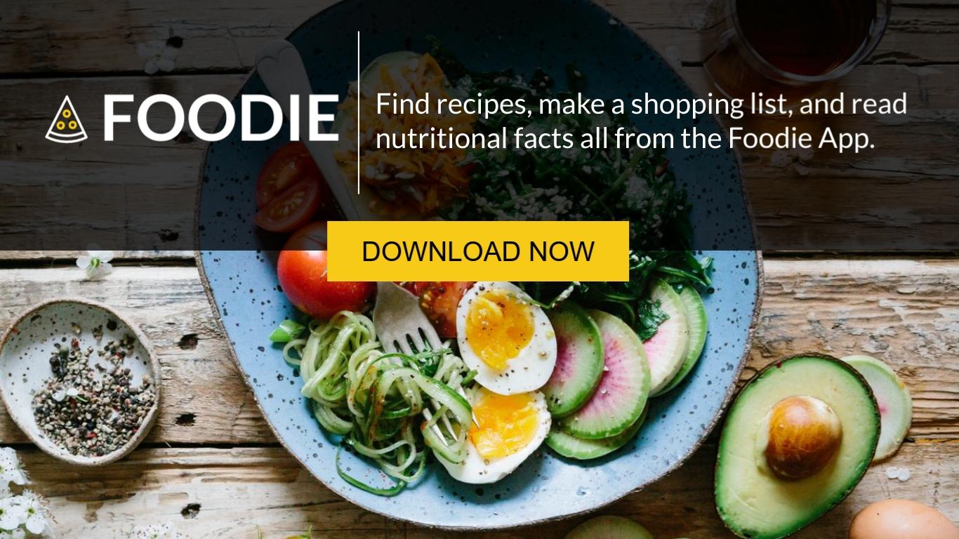 Foodie App - Twitter Ad Template