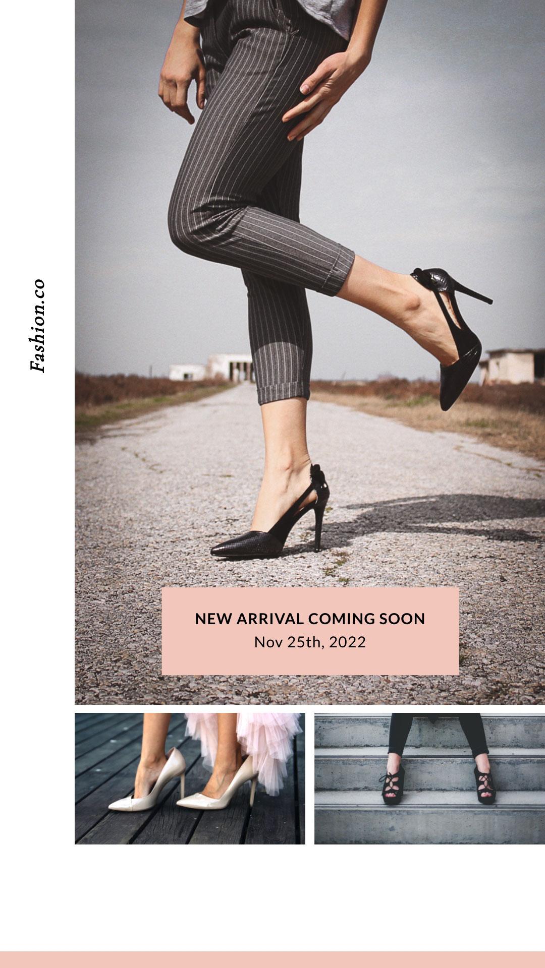 Footwear Instagram Stories Template