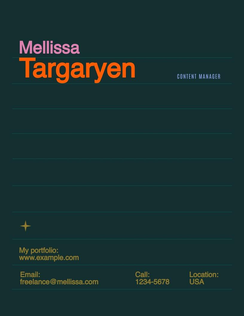 Freelance - Proposal Template