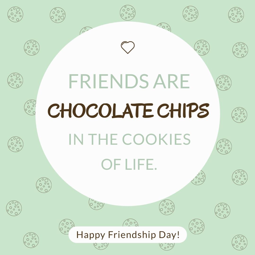 Friend Chocolate - Instagram Post Template