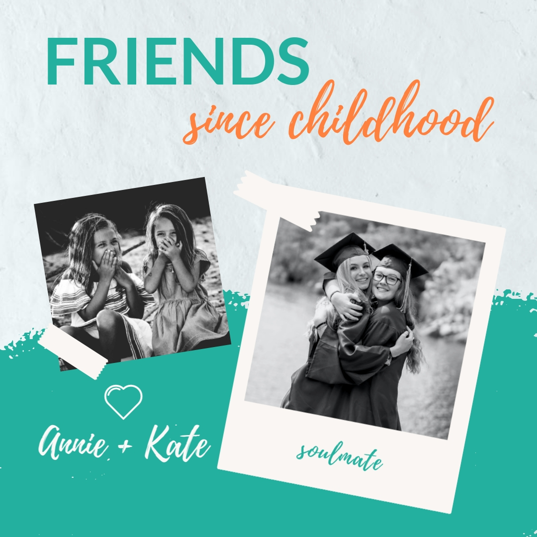 Friends Since Childhood Animated Square Template