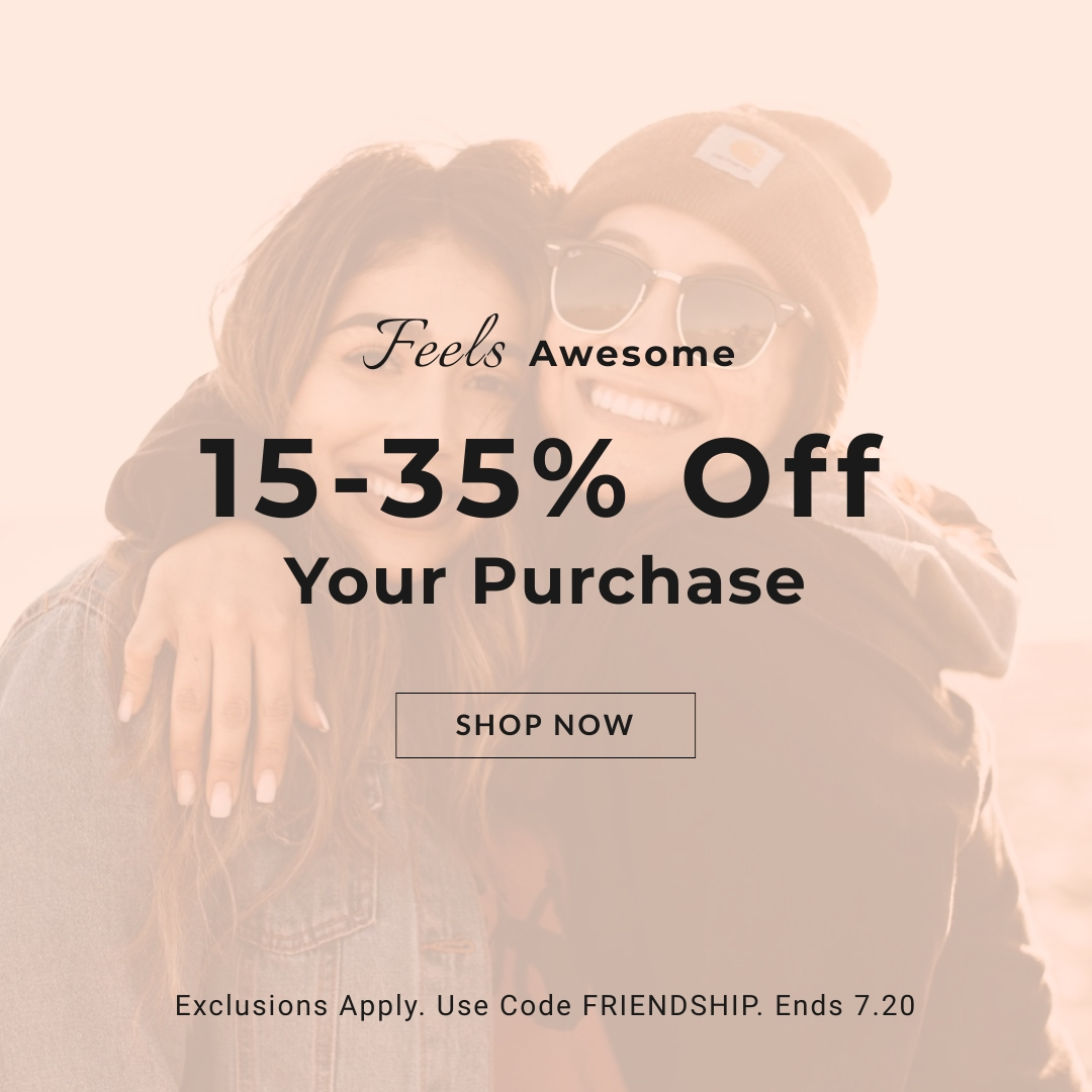 Friendship Day Discounts on Purchase Square Template