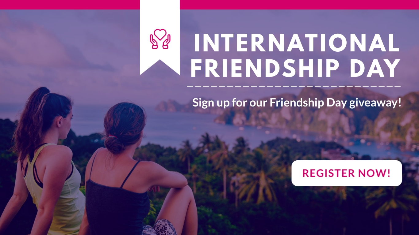 Friendship Day Giveaway Animated Wide Template