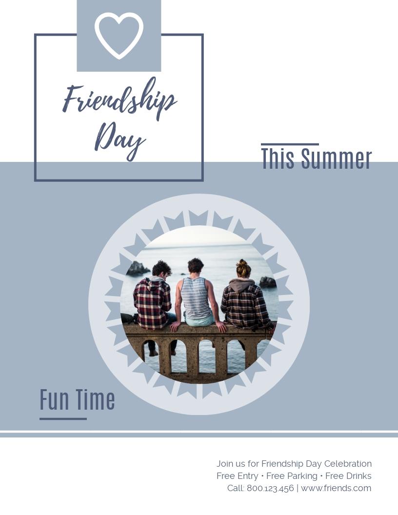 Friendship - Flyer Template