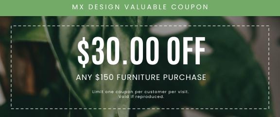 Furniture - Coupon Template