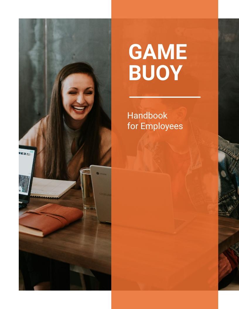 Gamebuoy Employee Handbook Template