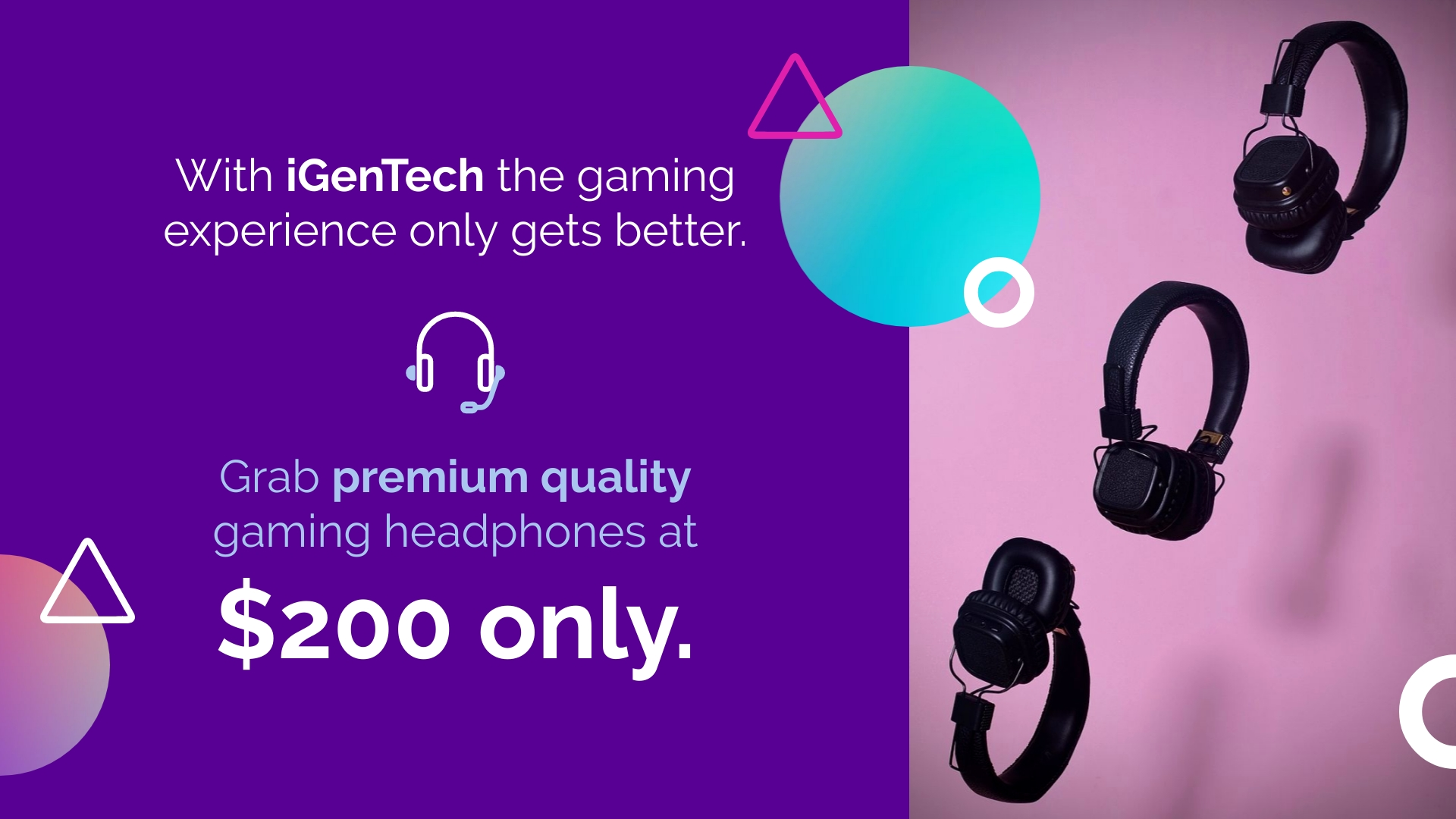 Gaming - Accessories YouTube Video Ad Template