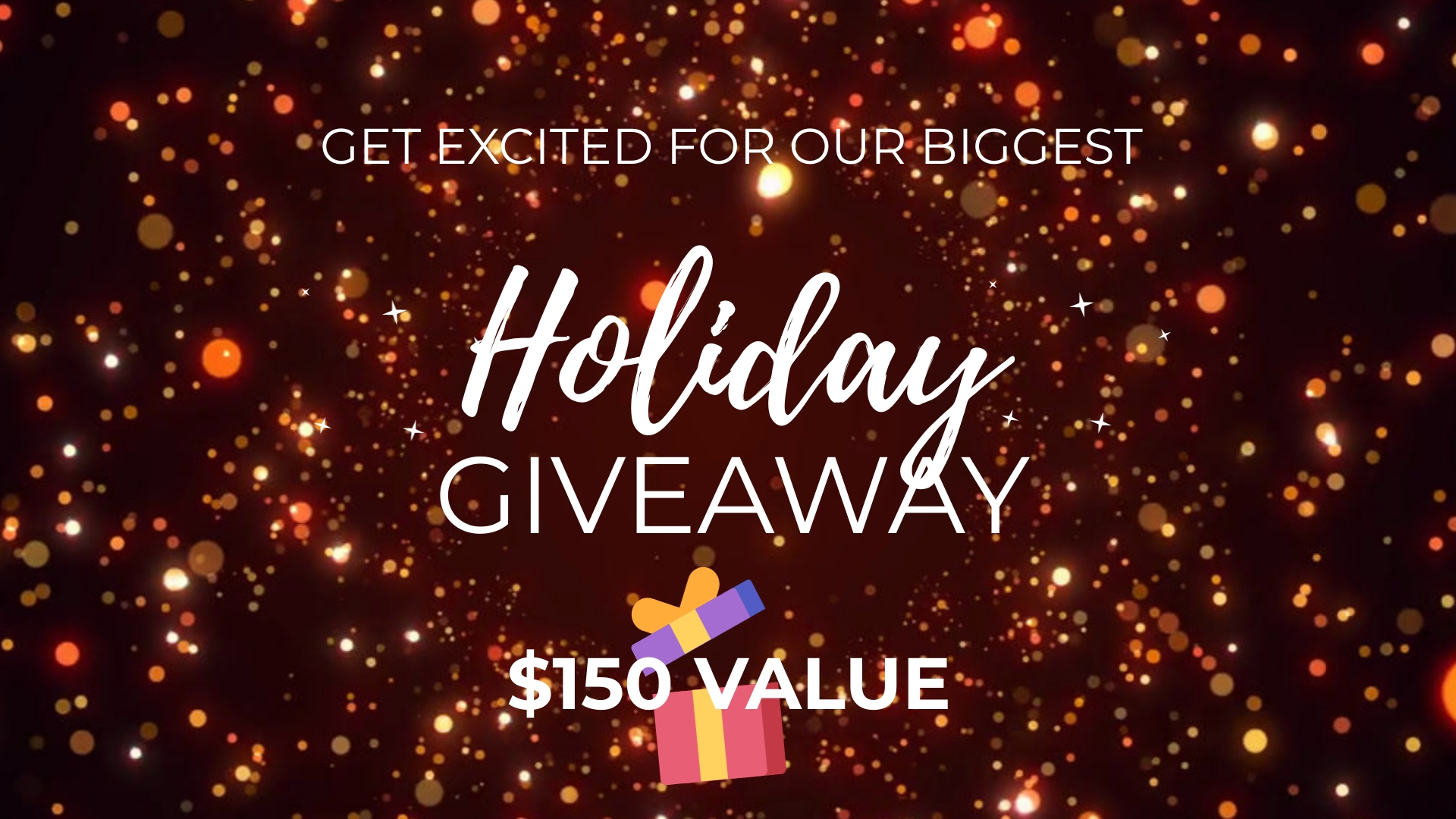 Giveaway Facebook Video Ad Template