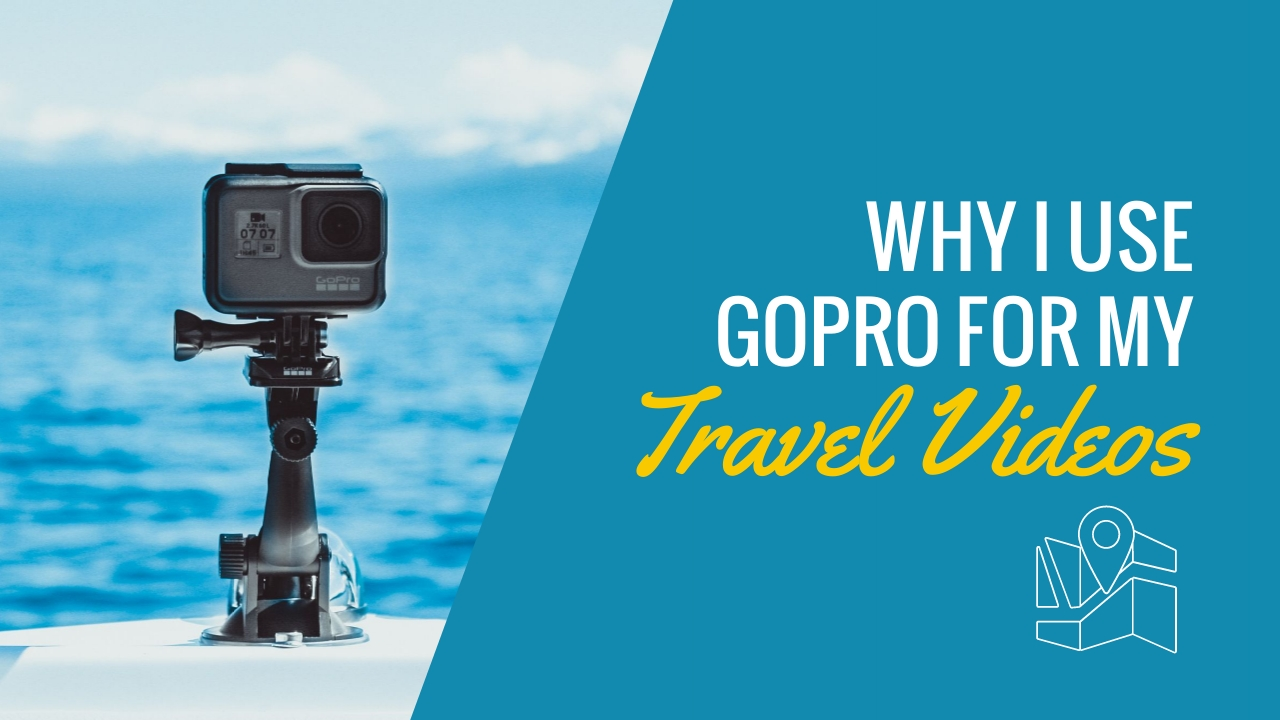 GoPro for Travel Videos Youtube Thumbnail Template