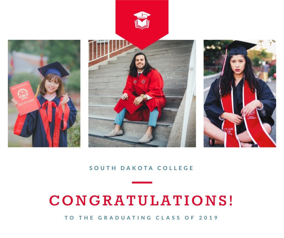 Graduates of Class 2019 Facebook Post Template