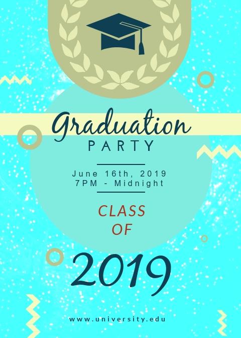 Graduation Party - Flyer Template
