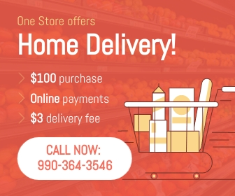 Grocery Delivery Large Rectangle Template