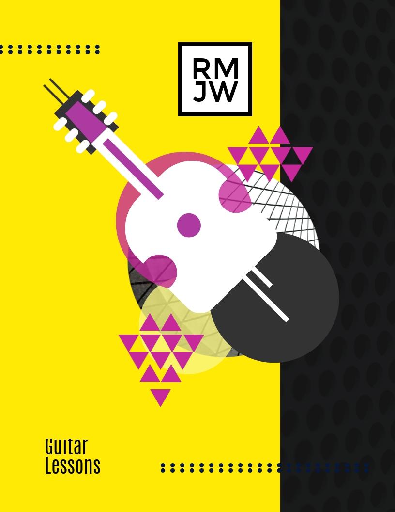 Guitar - Flyer Template
