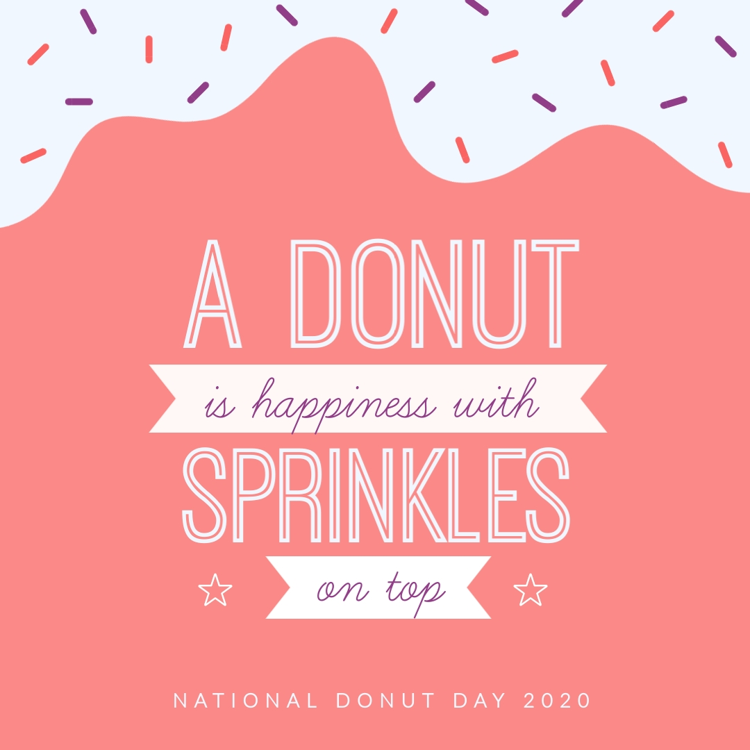 Happiness with Sprinkles Animated Square Template